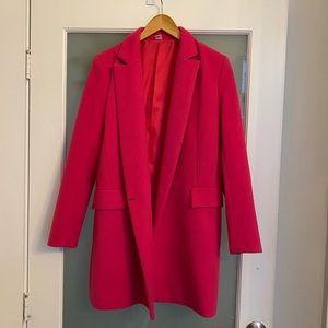 Jackets & Blazers - Hot pink winter coat